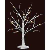 White Tree Table Lamp