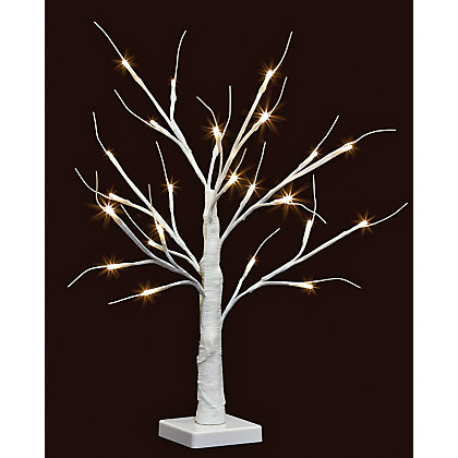 Image for White Tree Table Lamp from StoreName