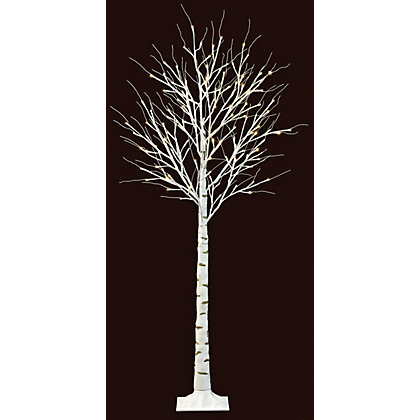 Image for 1.5m Birch Tree Floor Lamp from StoreName