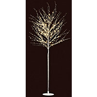 1.5m Glitter Tree With Beads Floor Lamp