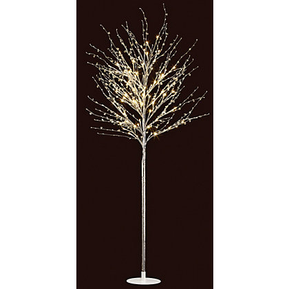 Image for 1.5m Glitter Tree with Beads Floor Lamp from StoreName