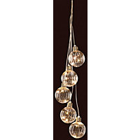 5 Hanging Ball Ceiling Light