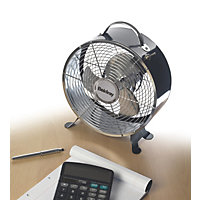 Beldray Retro 9 Inch Clock Fan - Black