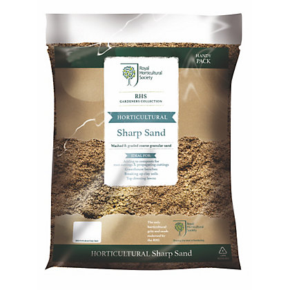 Image for RHS Horticultural Sharp Sand - Handy Pack from StoreName