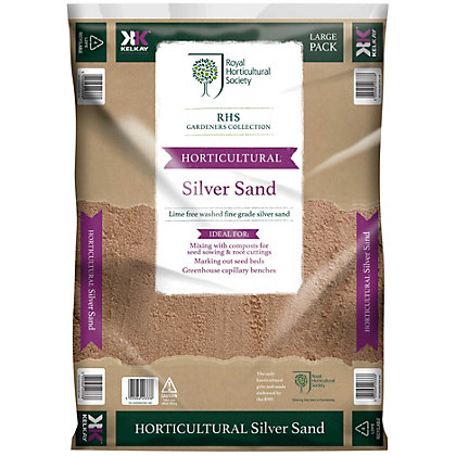 Image for RHS Horticultural Silver Sand - Large Pack from StoreName