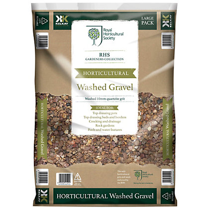 Image for RHS Horticultural Washed Gravel - Large Pack from StoreName