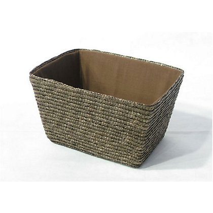 Image for Straw Basket - Small - Brown from StoreName
