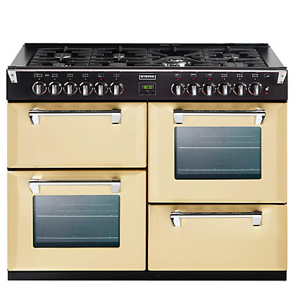 Image for Stoves Richmond 1100DFT Dual Fuel Range Cooker - Champagne. from StoreName