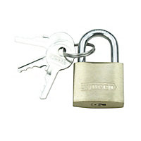 Syneco Solid Brass Padlock - 20mm