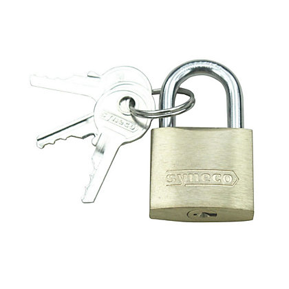 Image for Solid Brass Padlock 20mm from StoreName