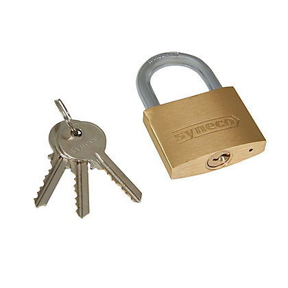 Image for Solid Brass Padlock 50mm from StoreName