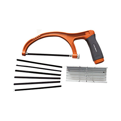 Image for Craftright 150mm Hacksaw Set with Mitre Box from StoreName