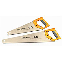 Craftright 380mm and 500mm Hand Saw Set - 2 Piece