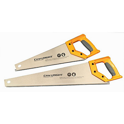 Image for Craftright 380mm and 500mm Hand Saw Set - 2 Piece from StoreName