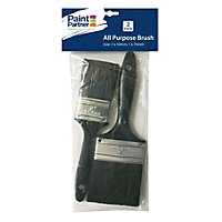 Paint Partner 2 Piece Paint Brushes - 50mm and 75mm
