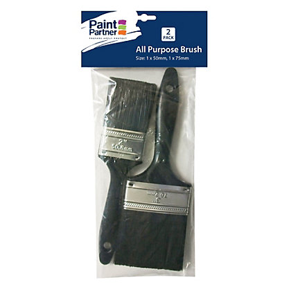 Image for Paint Partner 2 Piece Paint Brushes - 50mm and 75mm from StoreName