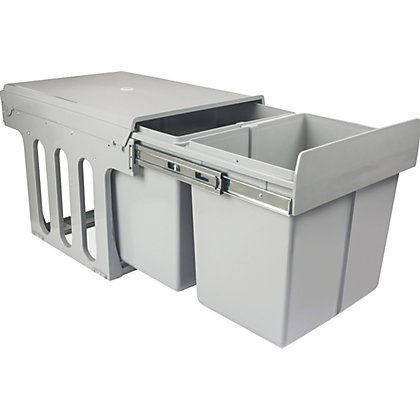 Image for 2 x 15L Marquee Pull-Out Waste Bins from StoreName
