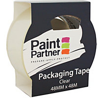 Paint Partner Packaging Tape - Clear - 48mm x 48m