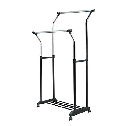 Image for Adjustable Height Garment Rack from StoreName