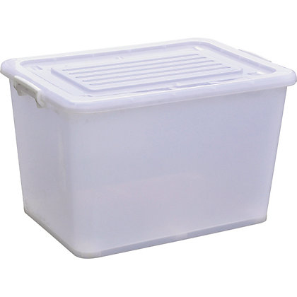 Image for 210L Plastic Storage Tub With Wheels from StoreName