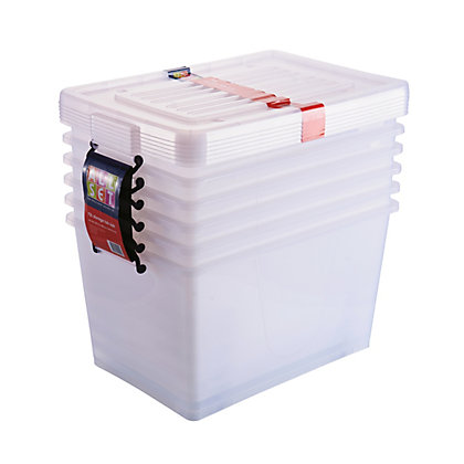 Image for 70L Storage Tub 6 Pack from StoreName