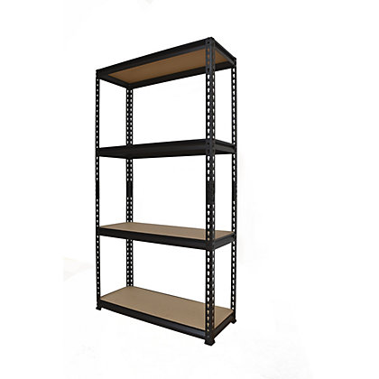 Image for QIQ-FIX 4 Tier Shelving Unit from StoreName