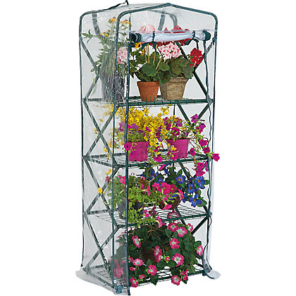 Image for 4 Tier Plant Tower with Clear Cover from StoreName