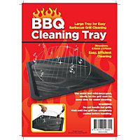 Plastic Barbecue Cleaning Tray