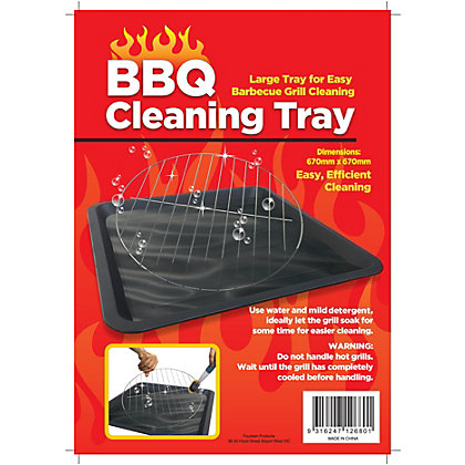 Image for Plastic Barbecue Cleaning Tray from StoreName