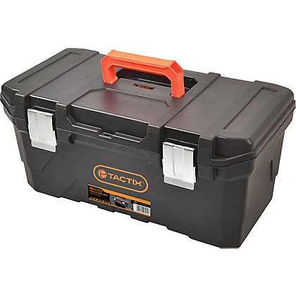 Image for Tactix 508mm Toolbox with Steel Latches from StoreName