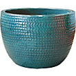 Arrow Small Plant Pot - Forest Green