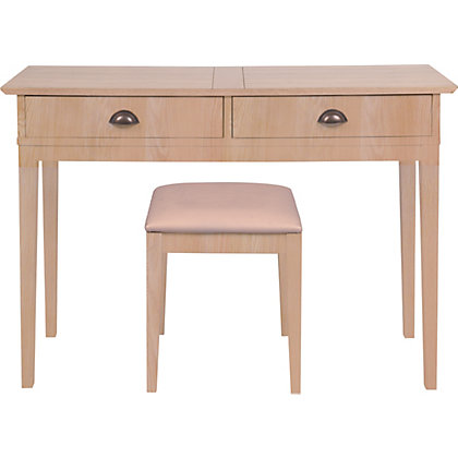 ... Dressing tables Wiltshire Dressing Table Stool & Mirror - Oak