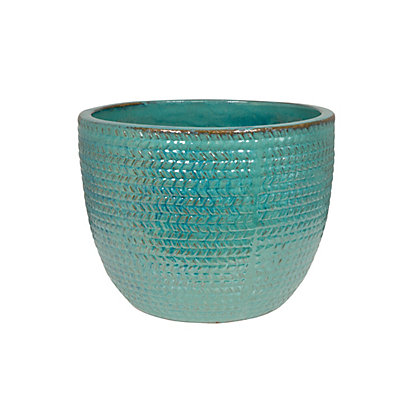 Image for Arrow Extra Large Plant Pot - Forest Green from StoreName