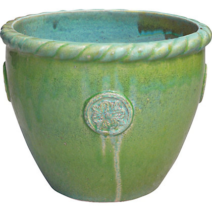 Image for Ravello Extra Large Plant Pot - Apple Green from StoreName