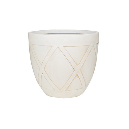 Image for Oblik Extra Large Plant Pot - Stone from StoreName