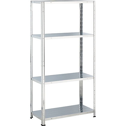 Image for Galvanised Steel 4 Shelf Storage Unit from StoreName