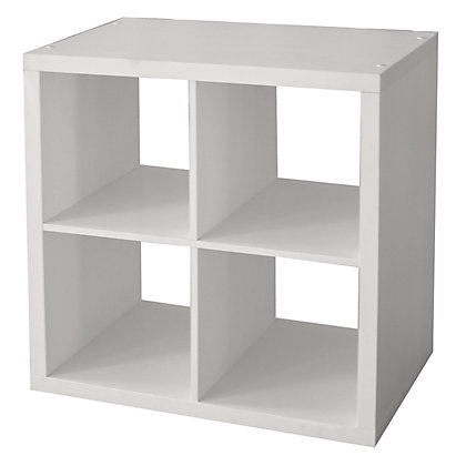 Image for Clever Cube Storage System - 2 x 2 - White from StoreName