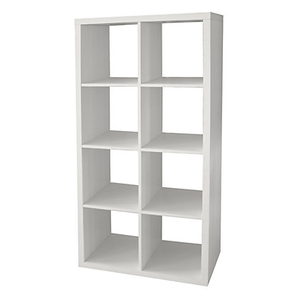 Image for Clever Cube Storage System - 2 x 4 - White from StoreName