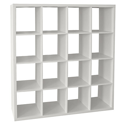 Image for Clever Cube Storage System 4 x 4 White from StoreName