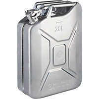 20L Jerry Can - Silver