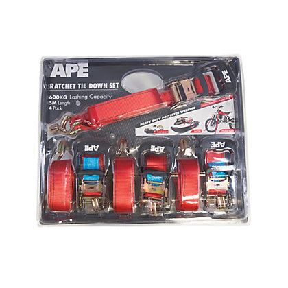 Image for APE Tie Down Set - 4 Pack from StoreName