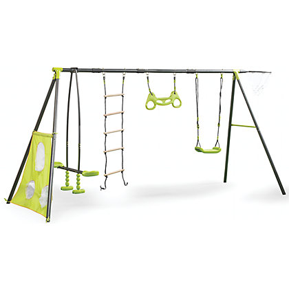 Image for Outdoor Swing Set - 6 Functions from StoreName