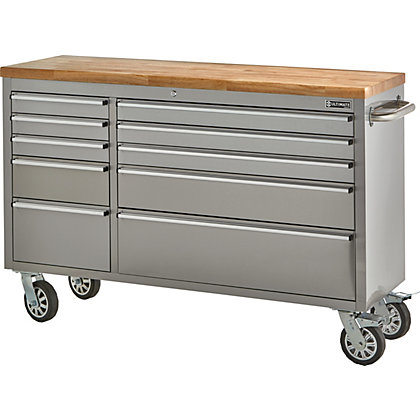 Image for Ultimate 56in 10 Drawer Tool Trolley from StoreName