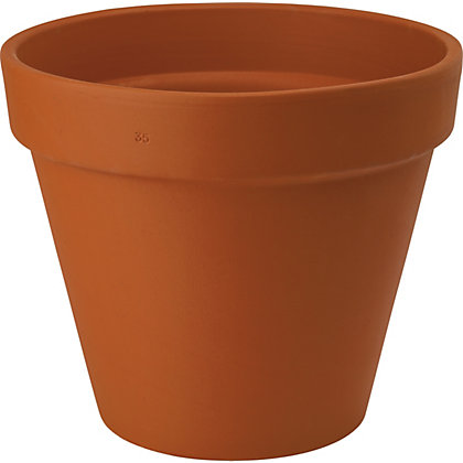 Image for Terracotta Standard Clay Plant Pot - 35cm from StoreName