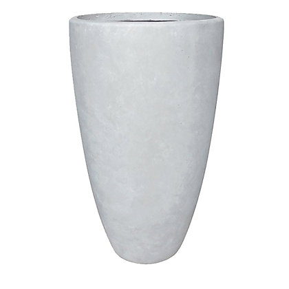 Image for Outdoor Fibreclay Cone Pot - Medium from StoreName