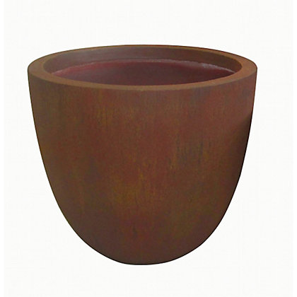 Image for Round Fibreclay Pot - Medium from StoreName