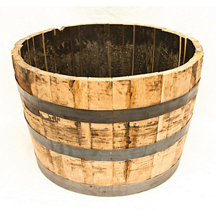 Image for Whiskey Barrel Planter from StoreName