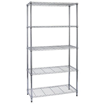 Image for 5 Tier Wire Shelving Unit from StoreName