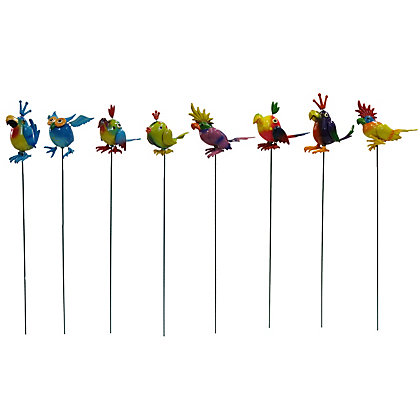Image for Colourful Bird Garden Stake - Assorted Designs from StoreName