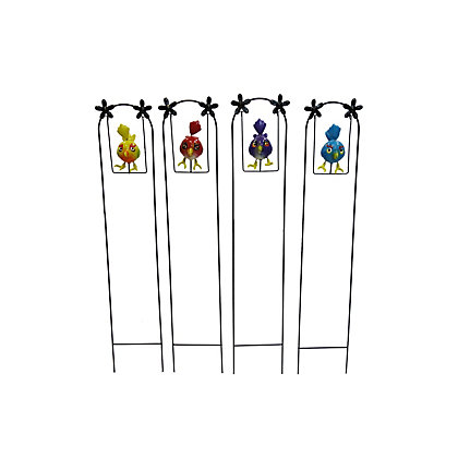 Image for Colourful Bird Swinging Garden Stake - Assorted Designs from StoreName